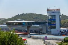 Jerez Racetrack Stock Image