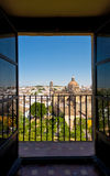 Jerez town from a window Stock Photo