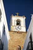 Jerez white belfry Stock Photography