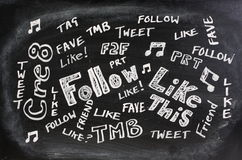 Jerga social de los media