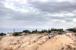 Jericó en desierto judean fotos de archivo libres de regalías