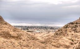 Jericó en desierto judean foto de archivo libre de regalías