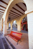 Jerica Castellon village arches in Alto Palancia of Spain Stock Images