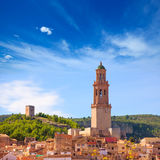 Jerica Castellon village skyline in Alto Palancia of Spain Stock Photo