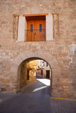 Jerica-Dorf nahe Segorbe in Valencia Lizenzfreies Stockbild