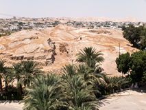 Jericho är en palestinsk stad som lokaliseras nära Jordan River i t royaltyfri bild