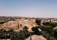 Jericho är en palestinsk stad som lokaliseras nära Jordan River i t royaltyfria bilder