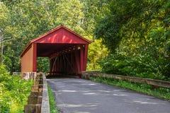 Jericho Covered Bridge Royaltyfri Foto