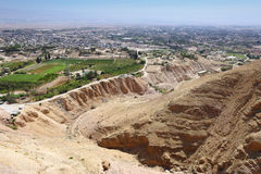 Jericho Holy Land Royaltyfri Foto