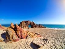 Jericoacoara plaża zdjęcie stock