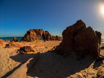 Jericoacoara strand Fotografering för Bildbyråer