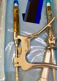 Jeringuillas de anestésico dental fotografía de archivo libre de regalías
