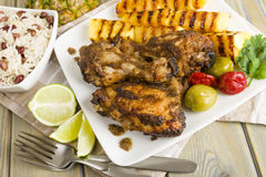 Jerk Chicken Royalty Free Stock Photography