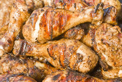 Jerk Chicken Drumsticks Royalty Free Stock Images