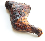 Jerk Chicken Leg Royalty Free Stock Photography
