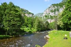 Jerma rzeka w Serbia Zdjęcia Stock