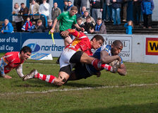Jermaine McGilvary try Stock Images