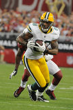 Jermichael Finley Wide Receiver for the Green Bay Packers. Royalty Free Stock Image