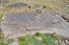 Jermuk, Armenia, halny plateau blisko Jermuk miasta przy wysokością 3200 metrów Fotografia Stock