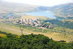 Jermuk city Stock Photos