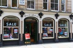 Jermyn Street shopping royalty free stock photo