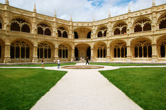 Jerònimos monastery Stock Images