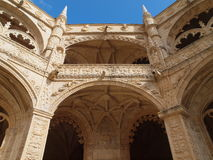 Jerònimos Monastery, Lisbon, Portugal. Royalty Free Stock Photos