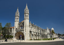 Jerónimos Monastery in Lisbon, Portugal, Europe Stock Image