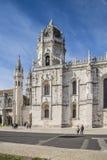 Jerónimos Monastery (Mosteiro dos Jerónimos) Stock Photography