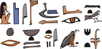 Jeroglífico de Egipto Fotos de archivo libres de regalías