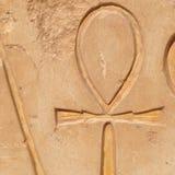 Jeroglíficos de Ankh Imagenes de archivo