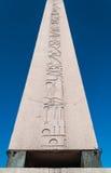 Jeroglíficos del obelisco Imágenes de archivo libres de regalías
