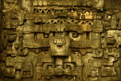 Jeroglíficos mayas Imagen de archivo