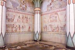 Jeroglíficos representados Foto de archivo libre de regalías