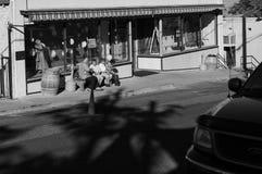 Jerome Arizona, in bianco e nero Immagine Stock Libera da Diritti