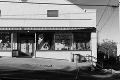Jerome Arizona, Black and White Royalty Free Stock Photography