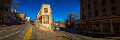 Jerome Arizona historic ghost town. Royalty Free Stock Image