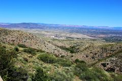 Jerome Arizona Mining Region photo libre de droits