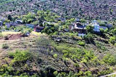Jerome Arizona State Historic Park images libres de droits