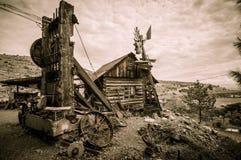 Jerome Arizona windmill royalty free stock image