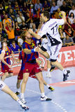 Jerome Fernandez (THW Kiel) Royalty Free Stock Photo