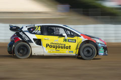 Jerome Grosset Janin Barcelone FIA World Rallycross Photographie stock libre de droits