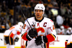 Jerome Iginla Calgary Flames Royalty Free Stock Photos