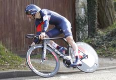 Jerome Pineau runner Cycling French Stock Photography