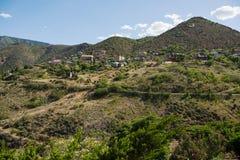 Jerome, uma cidade no Black Hills de Yavapai County, o Arizona Imagem de Stock Royalty Free