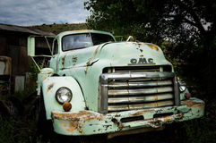 JEROME, usa - SIERPIEŃ 26: Jerome Arizona stary samochód, 2013 Obraz Stock
