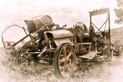 JEROME, usa - SIERPIEŃ 26: Jerome Arizona stary samochód, 2013 Obraz Royalty Free