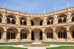 jeronimo klasztoru Lizbońskiego Zdjęcia Stock