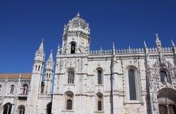 Jeronimo monastery in Lisbon Royalty Free Stock Photo