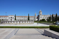 Jeronimo monastery in Lisbon, UNESCO Stock Images